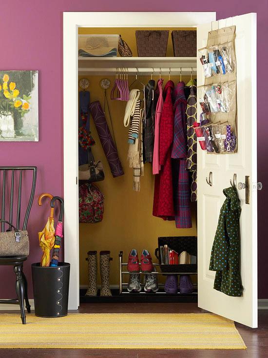 Craft Closet Organization Small