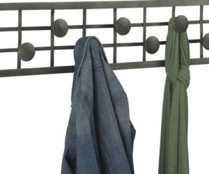 Marvelous Occordian Coat Rack · Grid Coat Rack Design