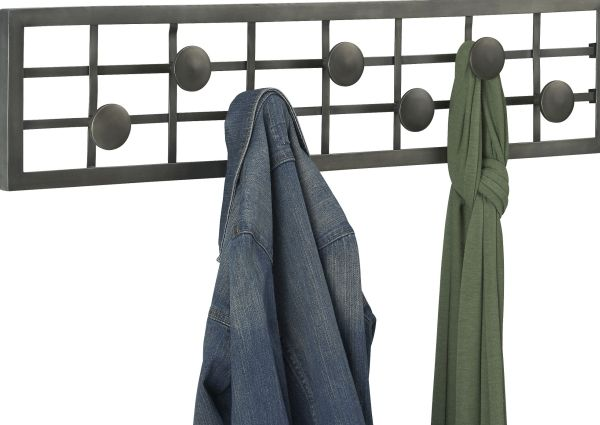 Grid Coat Rack Enchanting Jig Silver Coat Rack
