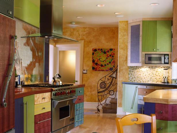 Unique color combinations for the kitchen - Pintura interior barata ...