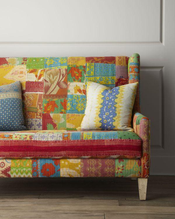 Colorful Jara Settee Design Ideas