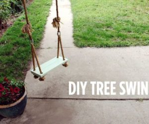 Stylish DIY Variations Of The Old-Fashioned Tree Swing