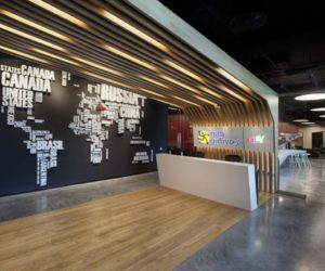 The Awesome E-Bay Offices Interior Design