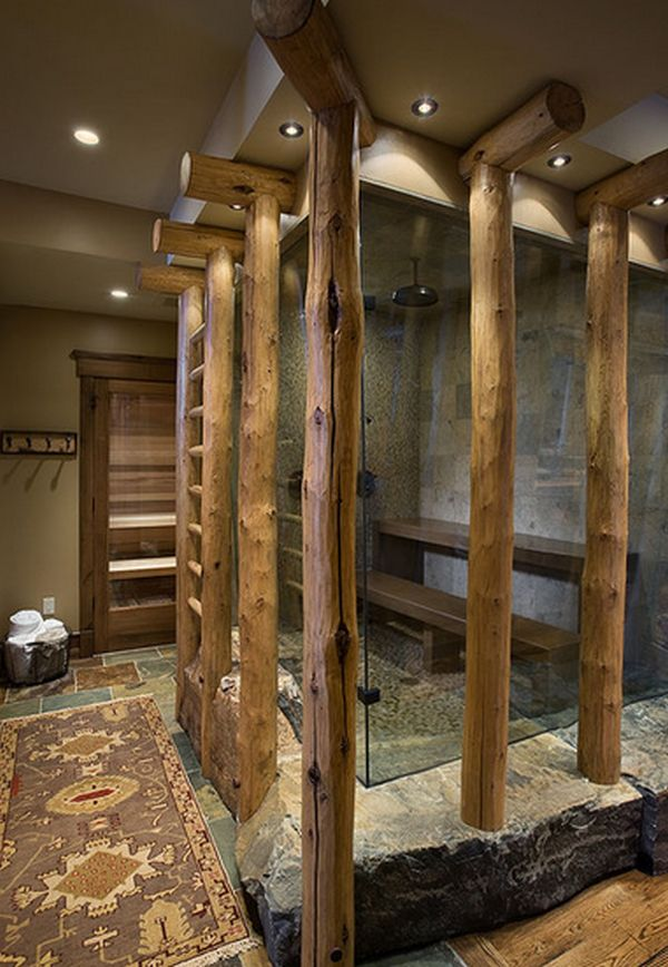 nature inspired - Walk In Shower Design Ideas