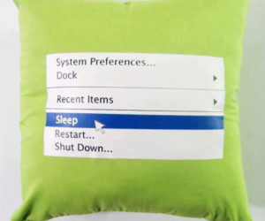 The Pillow that looks like your Computer