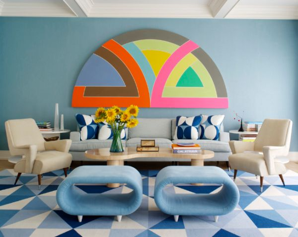 Lovely Transform Your Interior Décor Using Geometric Shapes