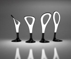 The flexible Motion Lamp by Gergő Kassai