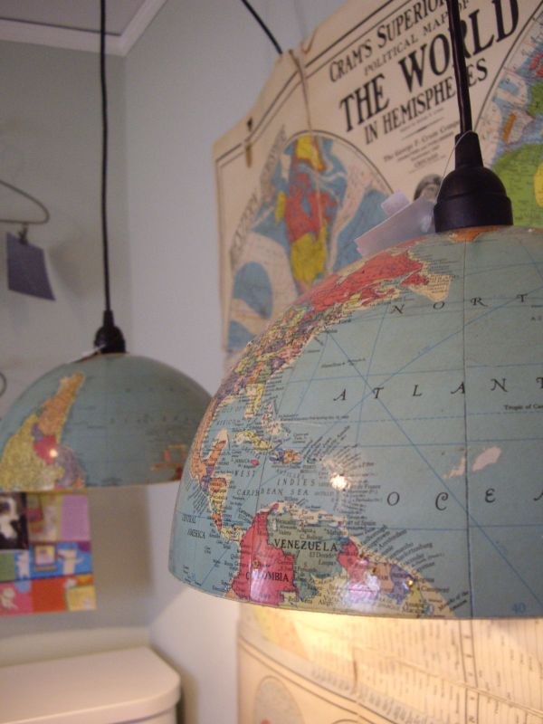 Globe Pendant Lamp.
