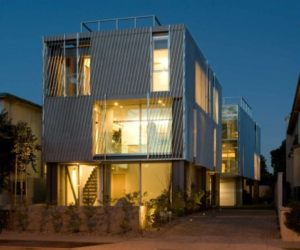Alki Townhomes By Johnston Architects · A Pair Of Townhouses In Los Angeles