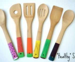 Painted Wooden Spoons Add Fun To The Kitchen