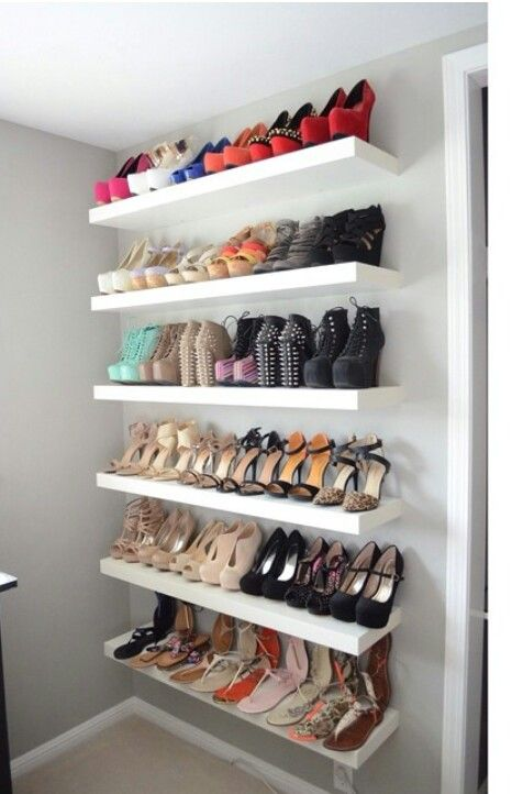 ikea shelves shoe rack