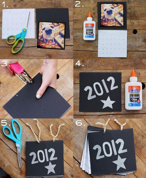 7 Easy Diy Calendar Ideas