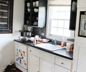 A creative new look for a tiny kitchen