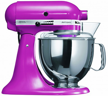 Colourful Mixers from KitchenAid Artisan