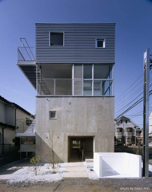 The Kobuchi Apartment, A Project In Japan