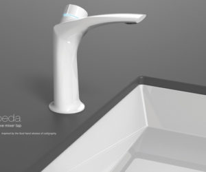 The innovative and intuitive Koeda faucet
