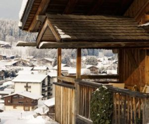 The enchanting Le Chalet Zannier in the French Alps