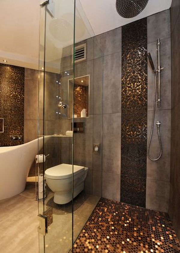 luxury shower - Luxury Tile Showers