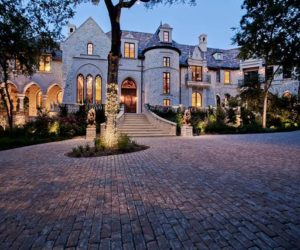 The unique M Mansion from Dallas, Texas