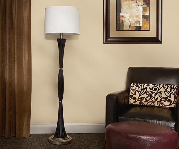 Steel Spindle Floor Lamp