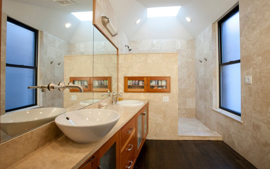 designed long bathrooms. View in gallery 10 Walk In Shower Design Ideas That Can Put Your Bathroom Over The Top