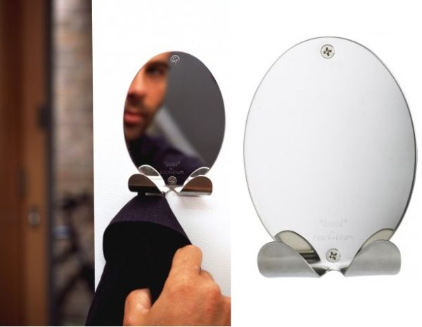 Boo! Mirror with Coat Rack