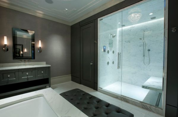 photos of walk in showers. View in gallery  10 Walk In Shower Design Ideas That Can Put Your Bathroom Over The Top
