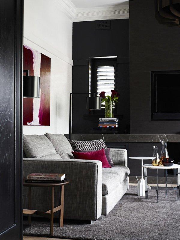 Dark Grey Interior Doors