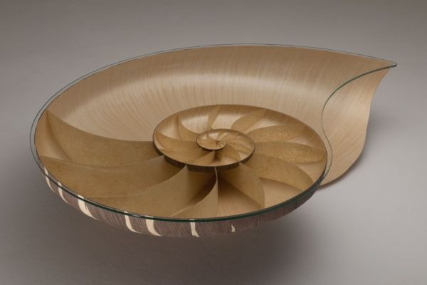 Delicieux Artistic Nautilus II Table By Marc Fish