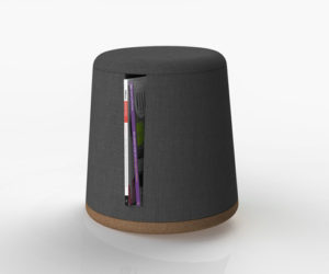 The Orbit Stool With Storage by Snapp
