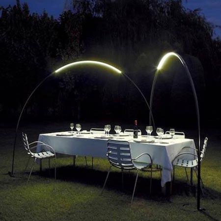Interesting design for an outdoor lamp for Outdoor lantern floor lamp