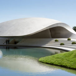 Exceptional The Porche Pavilion From Wolfsburg, Germany Good Ideas