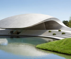The Porche Pavilion from Wolfsburg, Germany