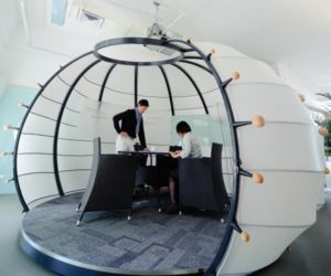 Unusual Pumpkin Shaped Room by edg Creatives