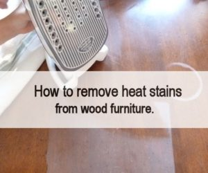 Exceptional How To Remove Heat Stains From Wood Furniture Idea