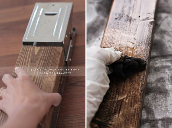 Rustic Sawhorse Desk2