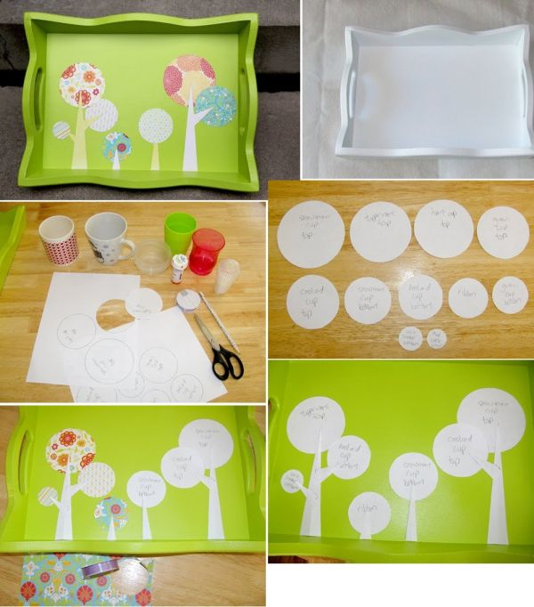 Favorite handmade tray projects 20 easy diy serving trays for How to buy art for your home