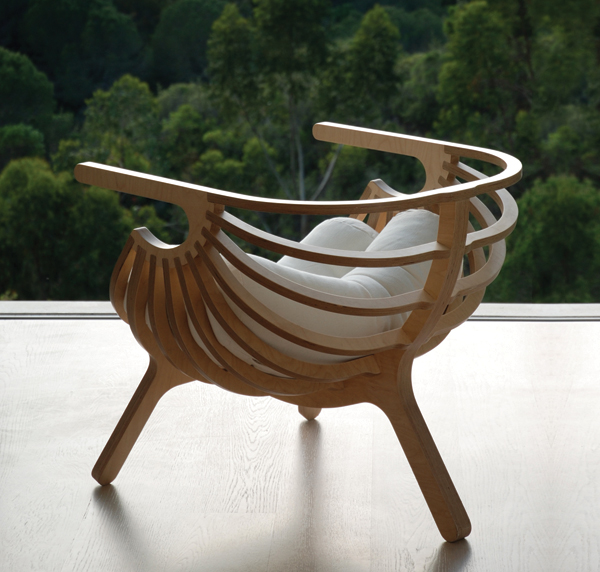 A Stylish Chair Inspired By The Sea
