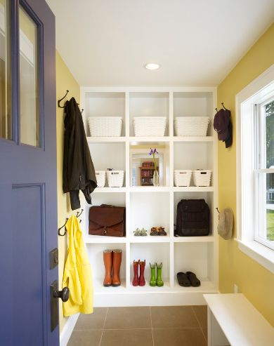 Clever Storage Solutions For A Well Organized Entry Hallway