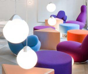 The Skype office interior design by pS Arkitektur