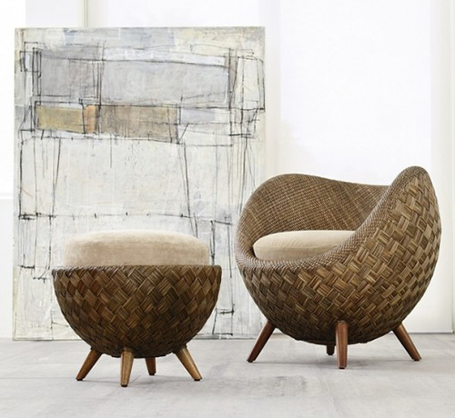 Exceptional La Luna A Rattan Chair By Kenneth Cobonque Awesome Ideas
