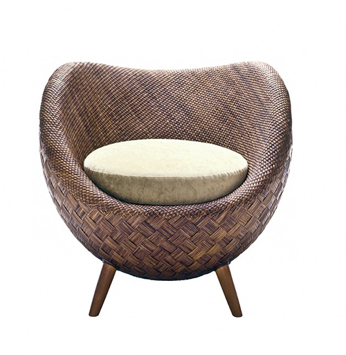 La Luna A Rattan Chair By Kenneth Cobonque