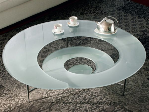 The Futuristic Spiral Coffee Table