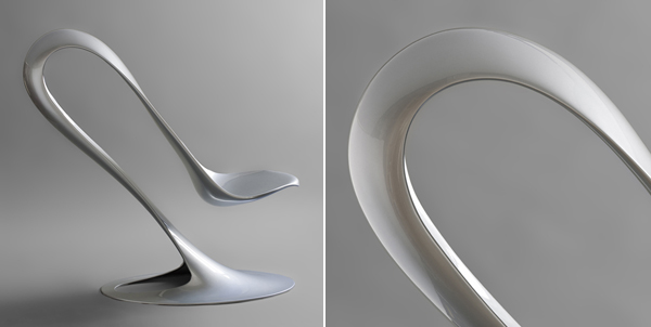 The spoon chair by philipp aduatz for Chaise originale