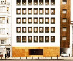 The Square Nine Hotel by Isay Weinfeld
