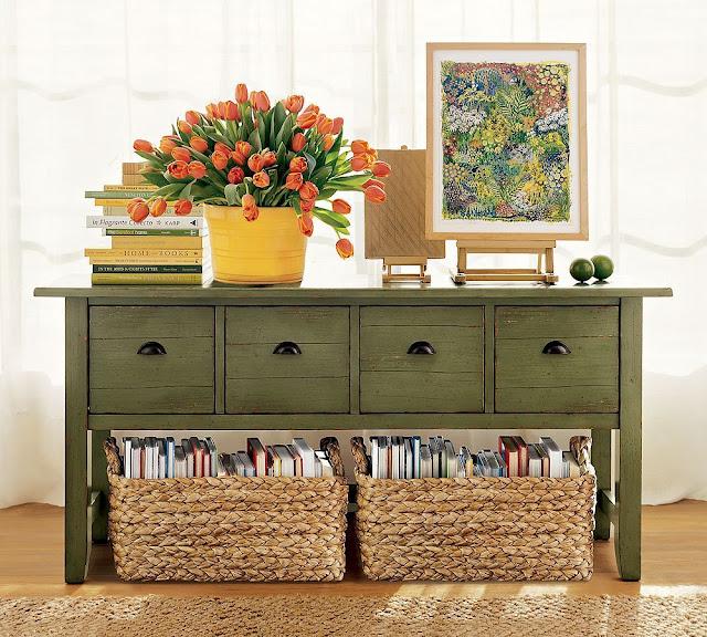 8 quick ways to use baskets around the house - Cestos para kallax ...