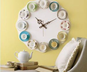 10 Unique DIY Wall Clocks