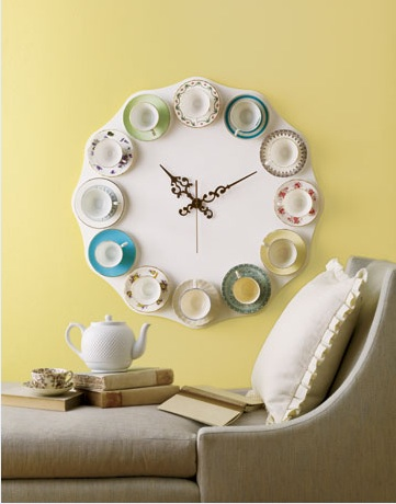 Unique DIY Wall Clocks