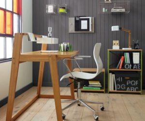 The minimalist tld desk by Jannis Ellenberger