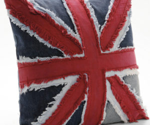 Union Jack Accent Cushion